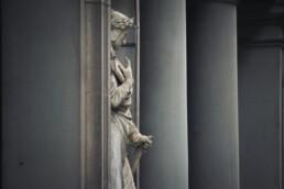 Dante nel Loggiato degli Uffizi